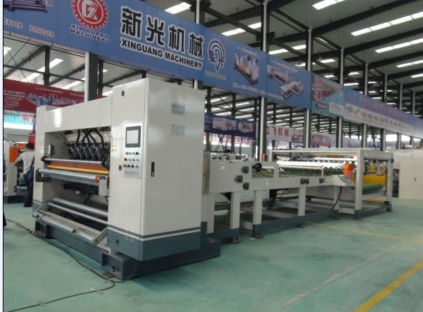 2 Layer Automatic Corrugated Cardboard Production Line 30 Meters Length